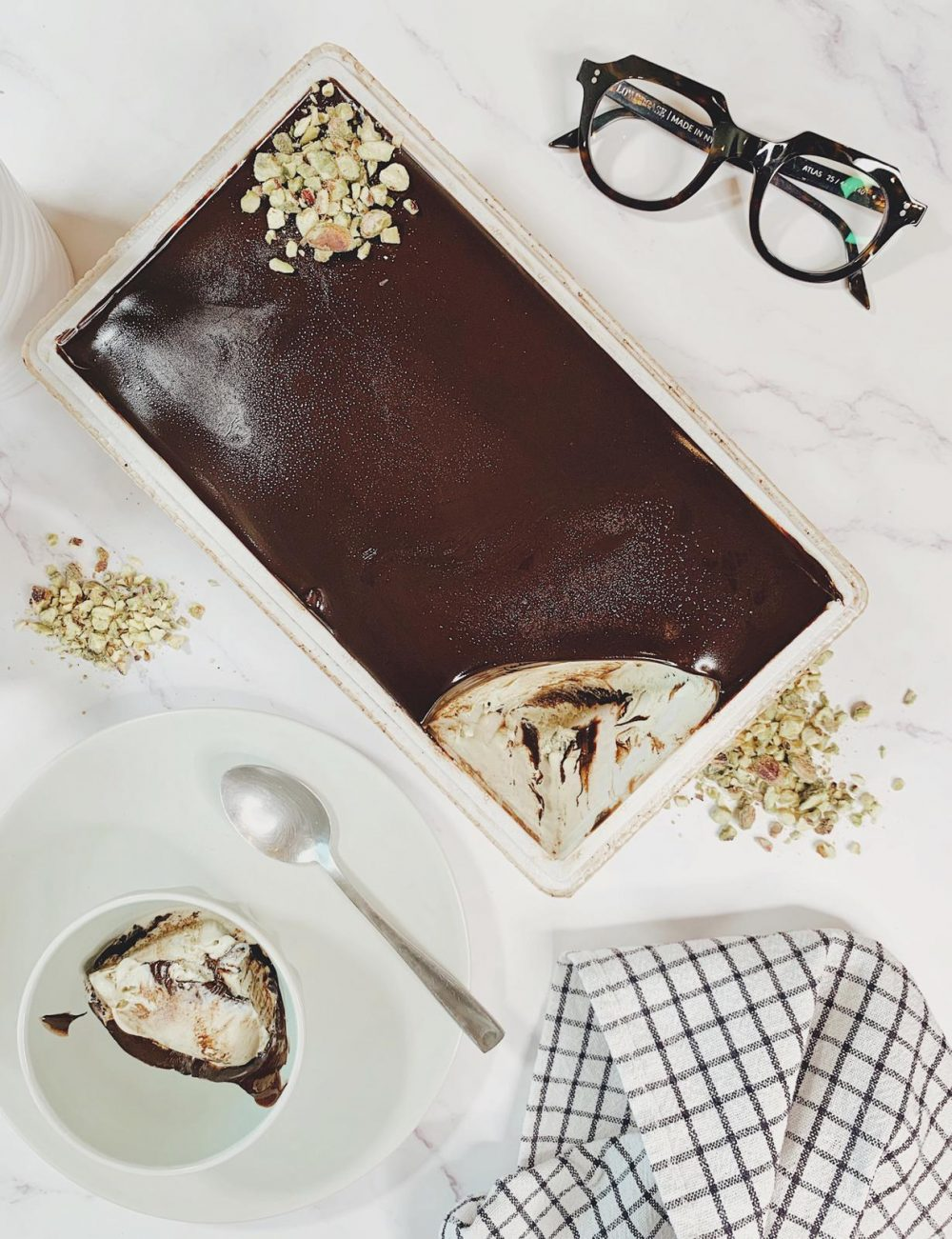 Cremino Gelato Chocolate Roma