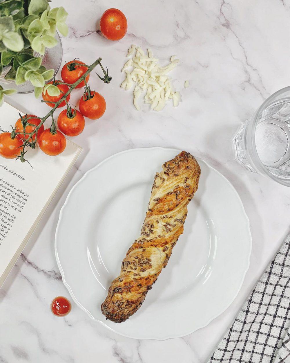 Pastries Savory Pizza Twist