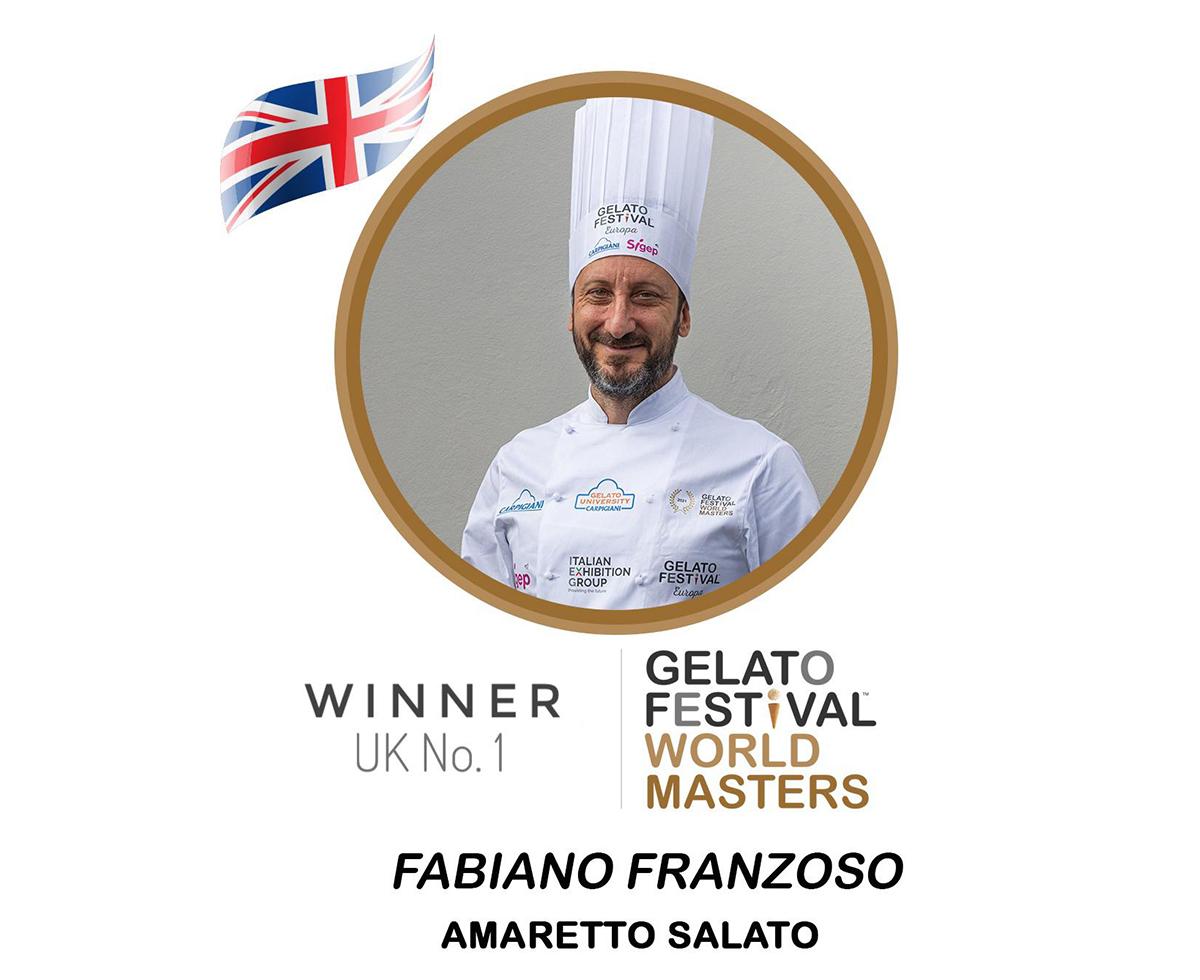 Winner-UK-Cremoloso gelato Gelato Festival World Master