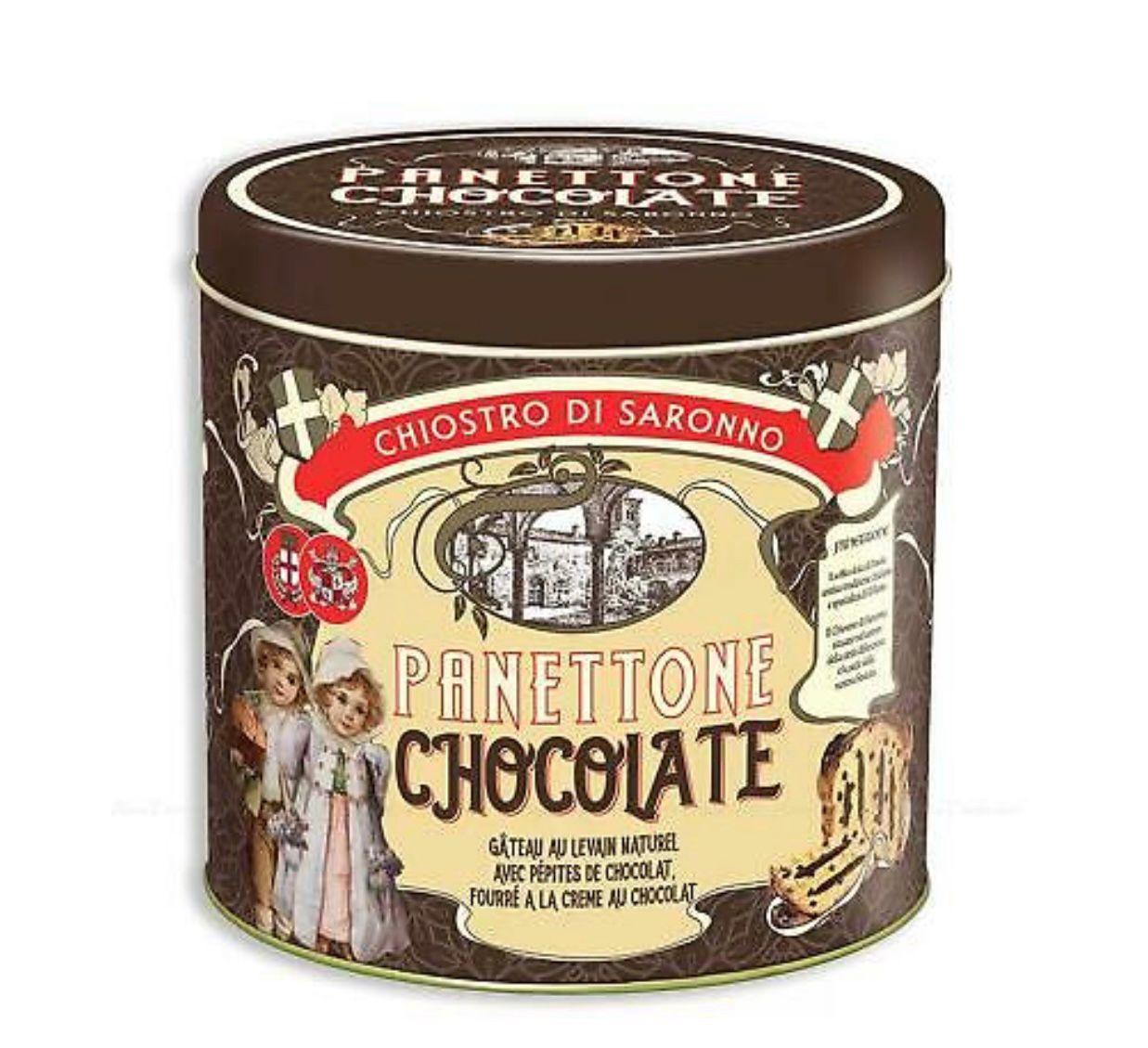 Chocolate panettone traditiona panettone
