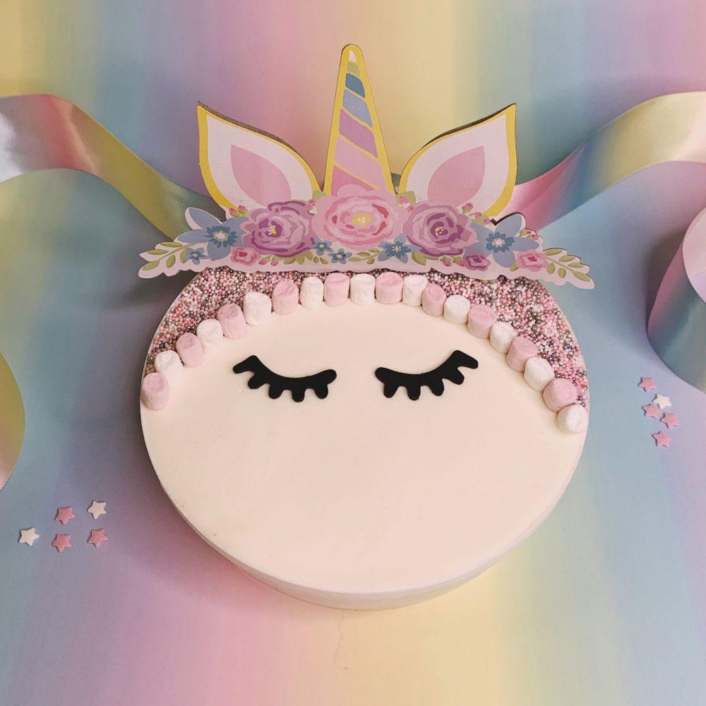 Unicorn Gelato Cake Cremoloso Gelato girl