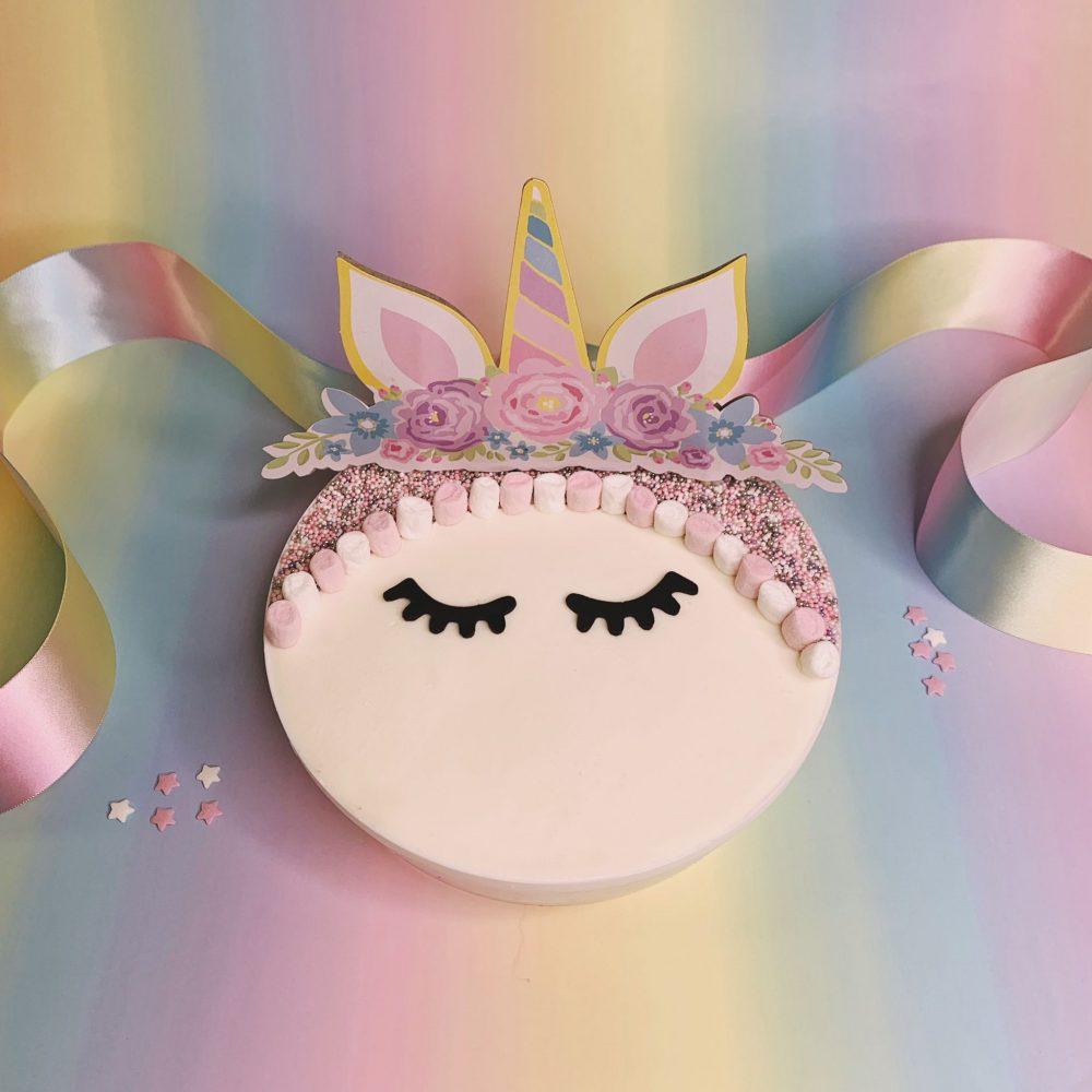 Unicorn Gelato Cake